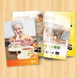 Download tea & merchandise for all occasions brochure