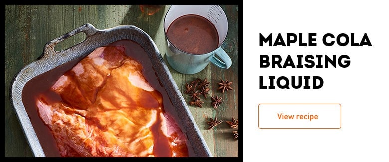 Maple Cola Braising Liquid