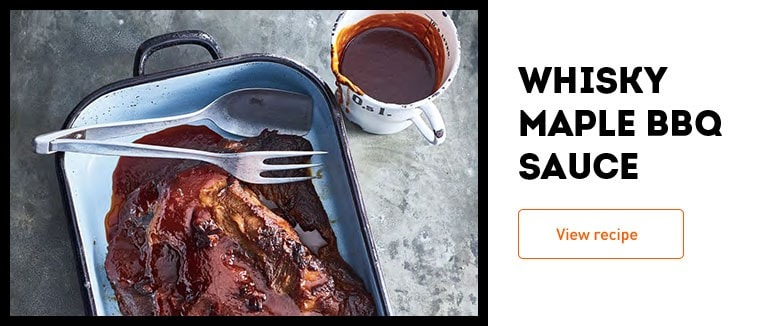 Whisky Maple BBQ Sauce