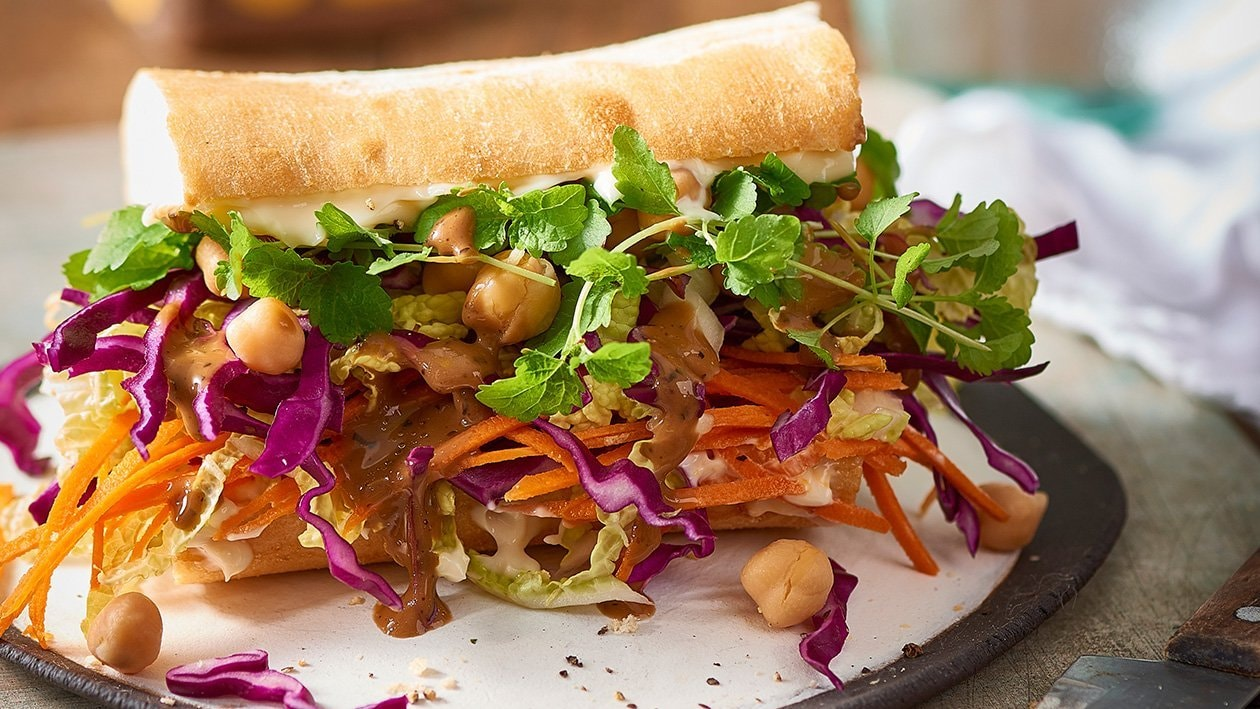 Salad Chickpea Sandwich – Recipe