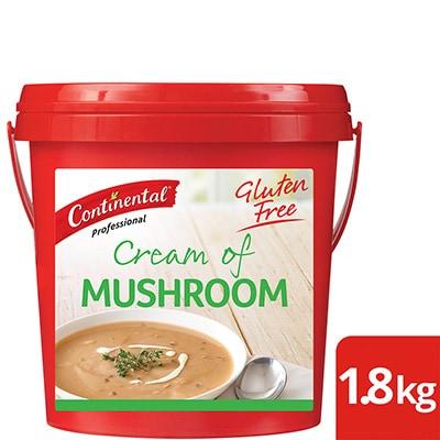 CONTINENTAL Professional Gluten Free Cream of Mushroom Soup Mix 1.8kg