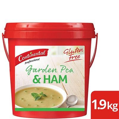 CONTINENTAL Professional Gluten Free Garden Pea & Ham Soup Mix 1.9kg