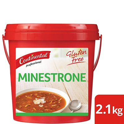 CONTINENTAL Professional Gluten Free Minestrone Soup Mix 2.1kg -