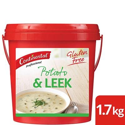 CONTINENTAL Professional Gluten Free Potato & Leek Soup Mix 1.7kg -