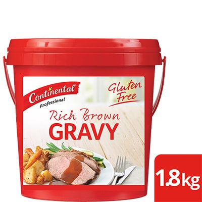 CONTINENTAL Rich Brown Gravy Gluten Free 1.8kg