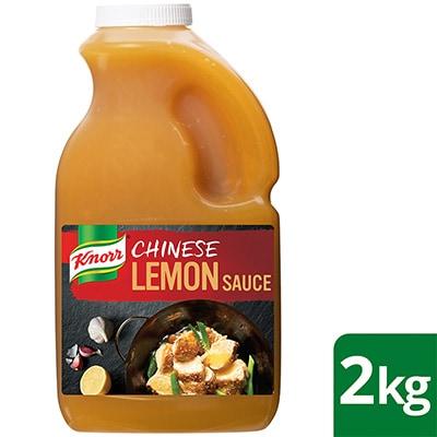 KNORR Chinese Lemon Sauce GF 2kg -