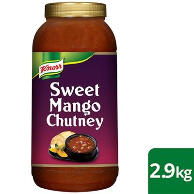 KNORR Patak's Sweet Mango Chutney 2.9 kg -